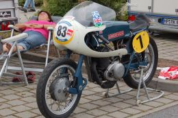 Greeves Silverstone 250cc RCS BJ 1965