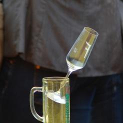 Wein auf Bier…...