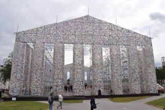Marta Minujín - The Parthenon of Books