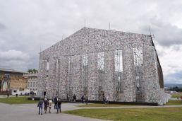 Marta Minujín - The Parthenon of Books