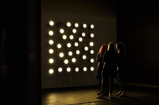 Maria Hassabi - Staging: Lighting Wall #1