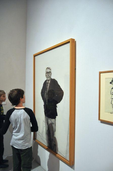Gerhard Richter - Porträt Arnold Bode (1964)